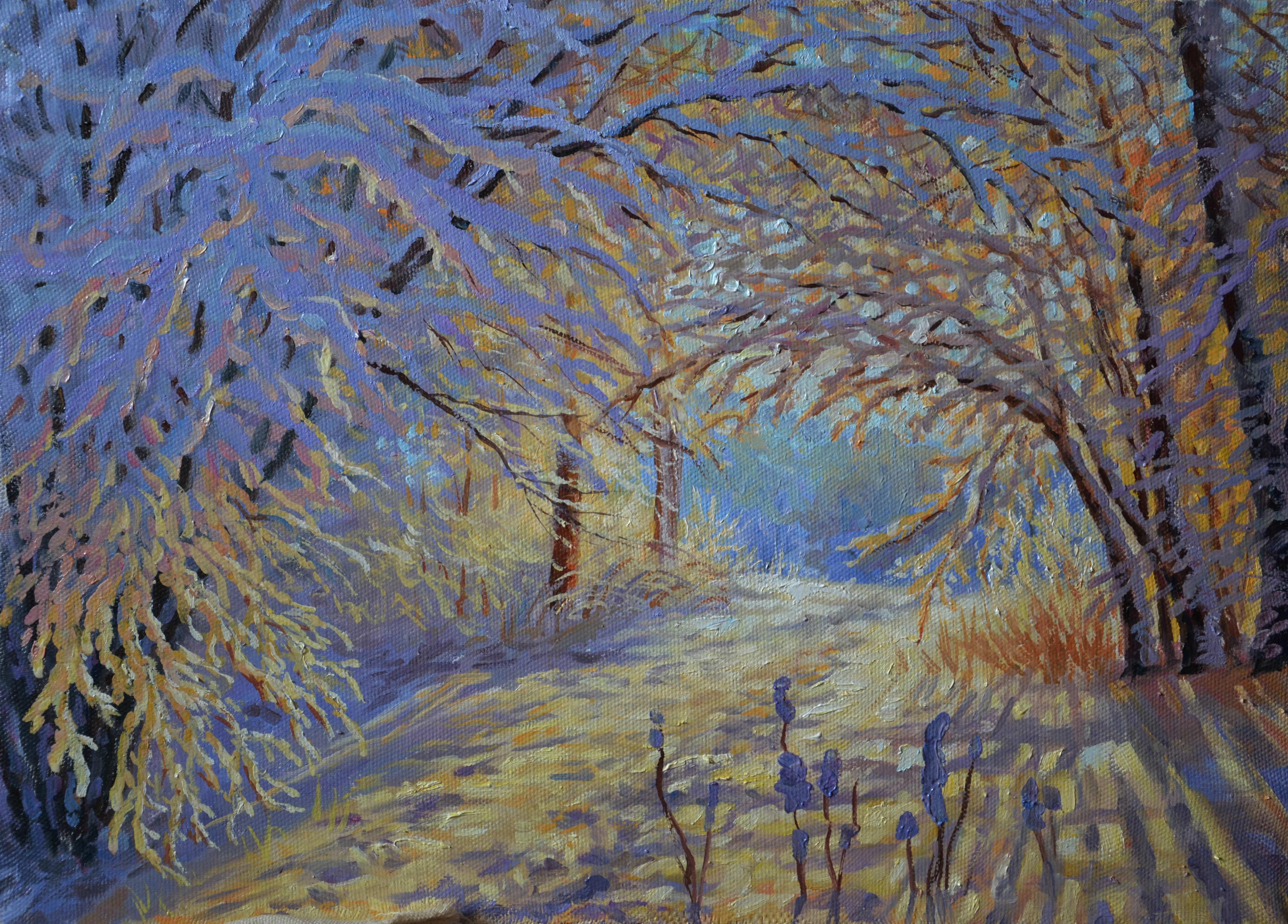 Юлия Бакаева – Зимний лес