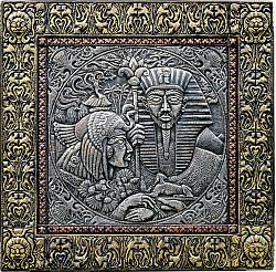 Фараон и принцесса (панно)
