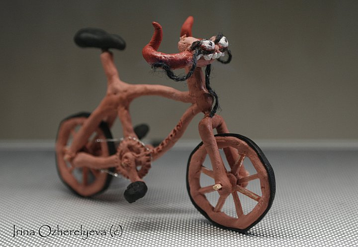 Сувенир велосипед своими руками видео