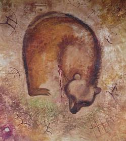 Раненный медведь