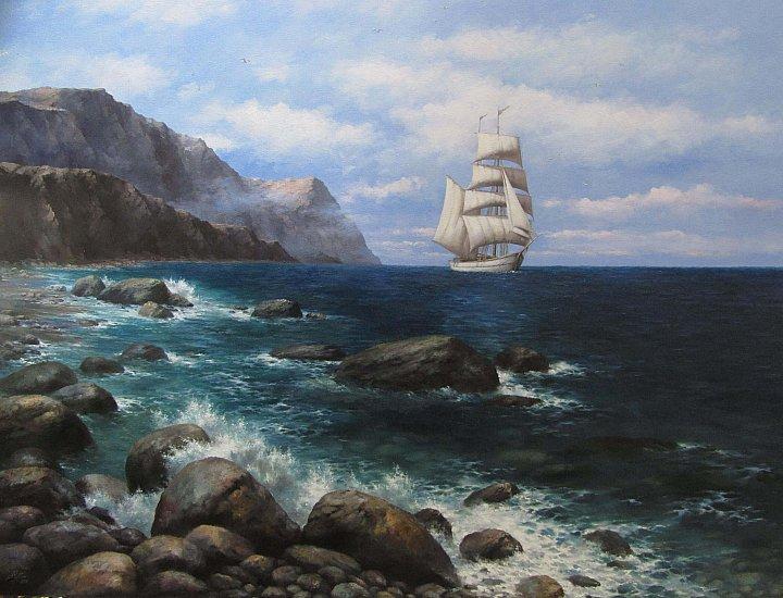 Кудин Александр – Морской пейзаж