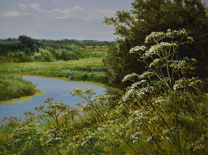 Тихая песня реки