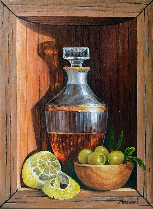 Лимон и оливки