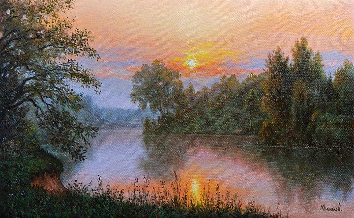 Александр Мельников – Вечер на реке