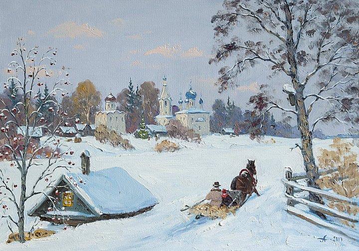Alexandrovsky – Старая Ладога, зима