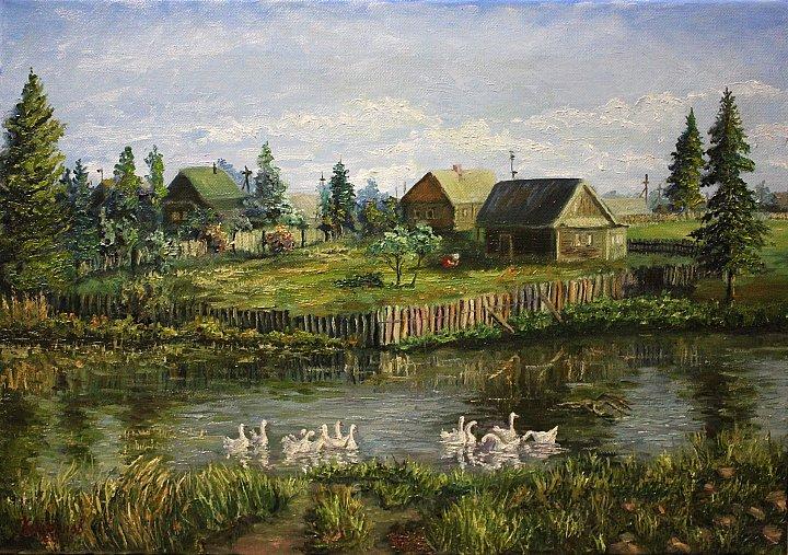 У пруда ~ Александр Корепанов
