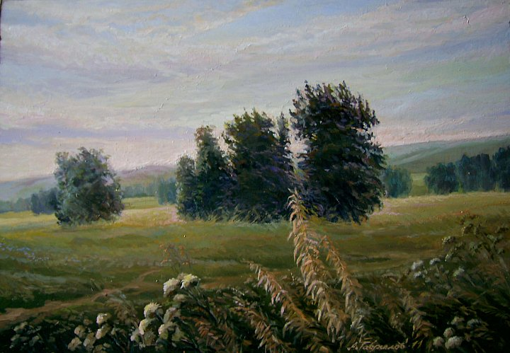 Августовские травы