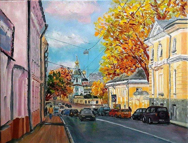 Московские зарисовки. Яузская улица