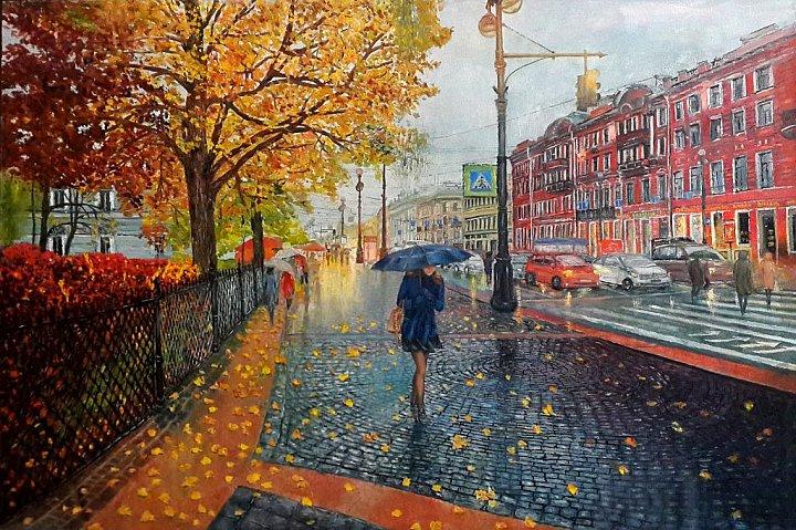 Питерский дождь