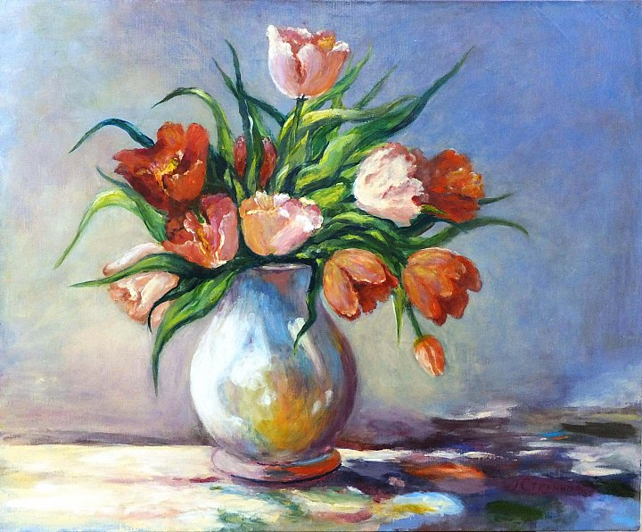 Струнина Галина – Тюльпаны. Tulips