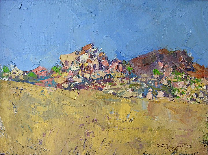 Shorja2013, oil on canvas ~ ARMEN AMIRAGHYAN