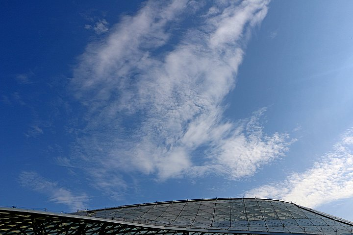 Dome and sky