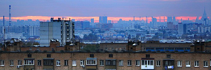 Sunset over Moscow 2 ~ andrewdyachkin