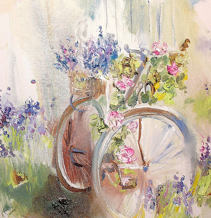 Flower wind. Bicycles ~ Аннет