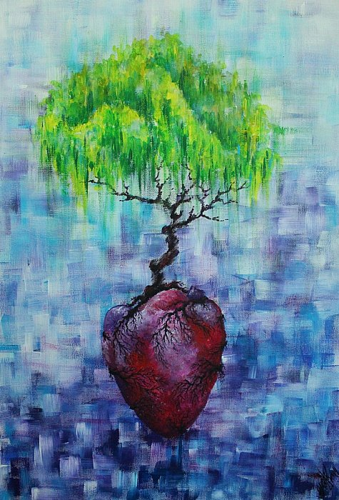 hearts tree ~ artistmarym
