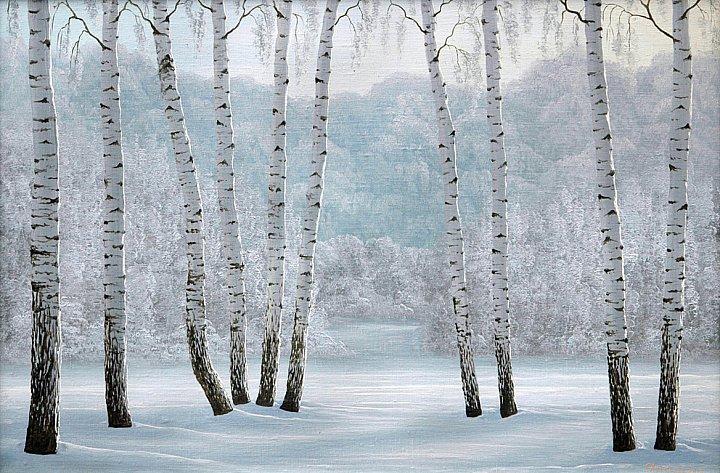 Сергей Алексеев – Зимний лес