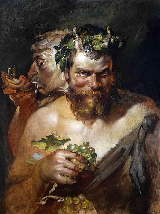 Two Satyrs ~ Sergei