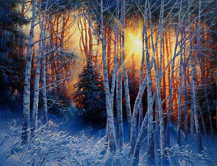 Виктор Долгополов – Зимний пожар