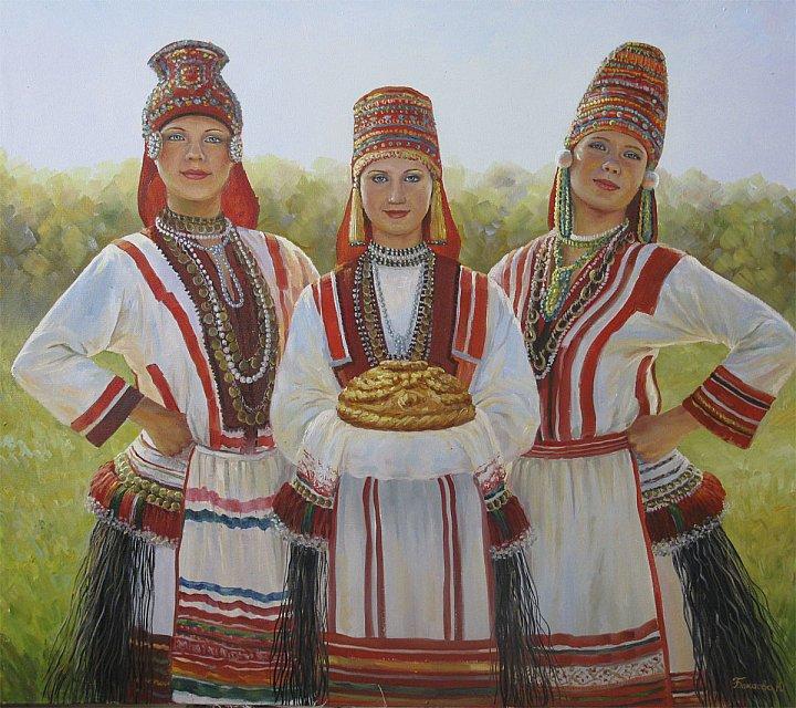 Юлия Бакаева – Эрзянки