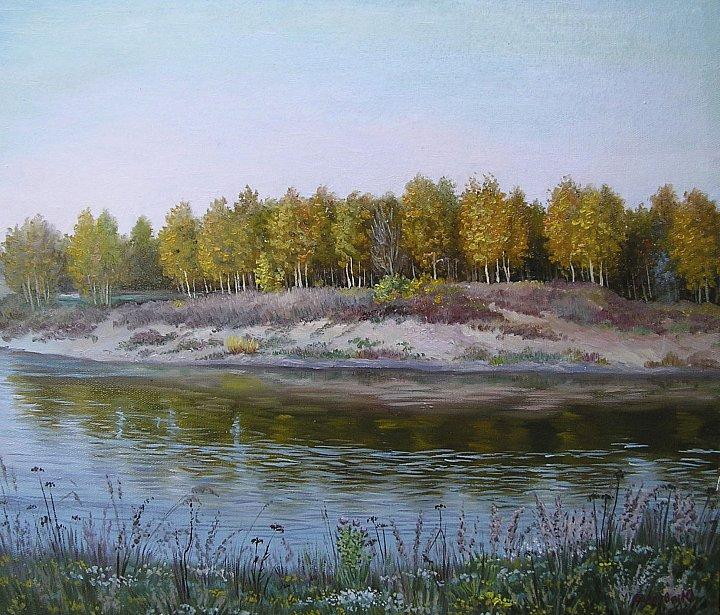 Мокша. Осенний пейзаж