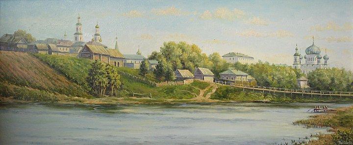 Набережная старого Саранска