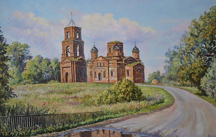 Юлия Бакаева – Старая церковь. Стрелецкая Слобода