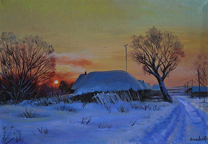 Юлия Бакаева – Зимний вечер