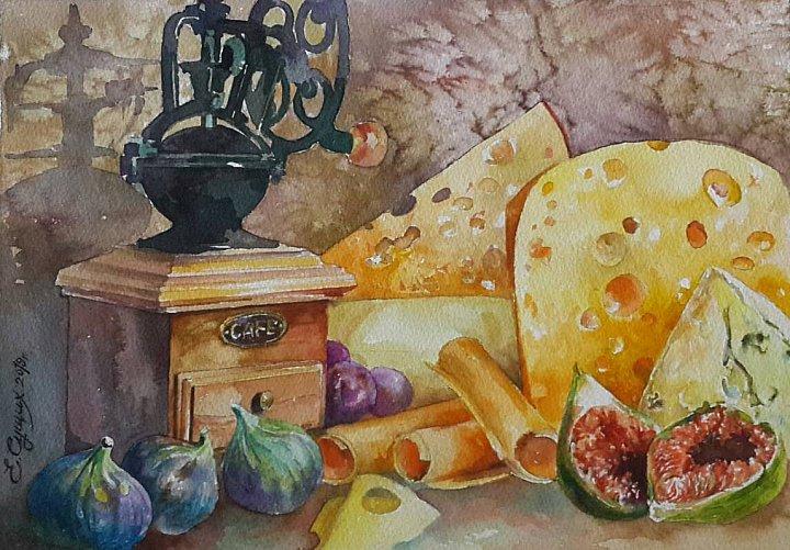Сырный натюрмортик