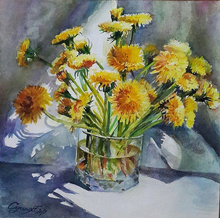 Сущих Елена – Весна в стакане
