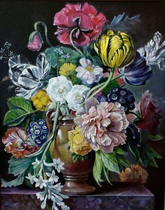 Вера Ивановна Цивенкова – Цветы в вазе