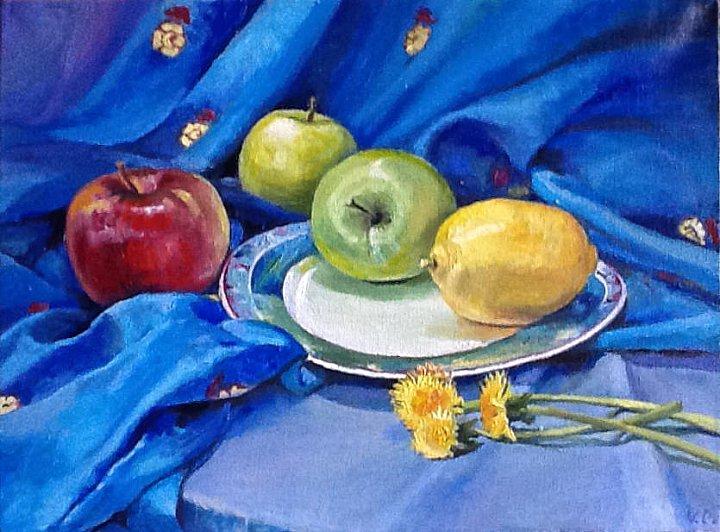 фрукты и цветы