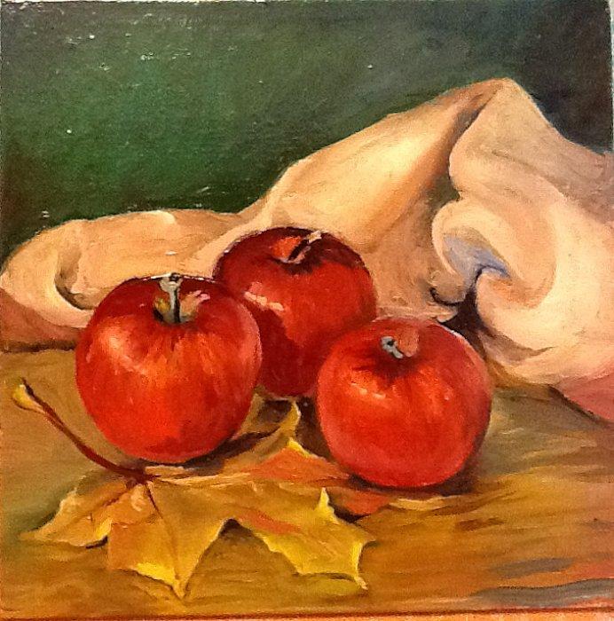 Вера Ивановна Цивенкова – Яблоки с листом
