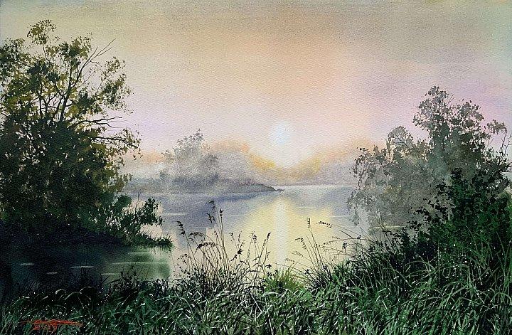 Дубовой Игорь – Туманное утро