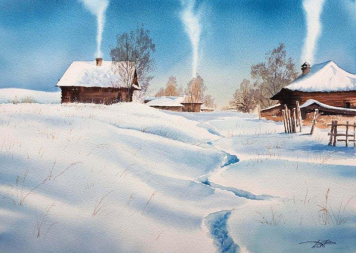 Дубовой Игорь – winter