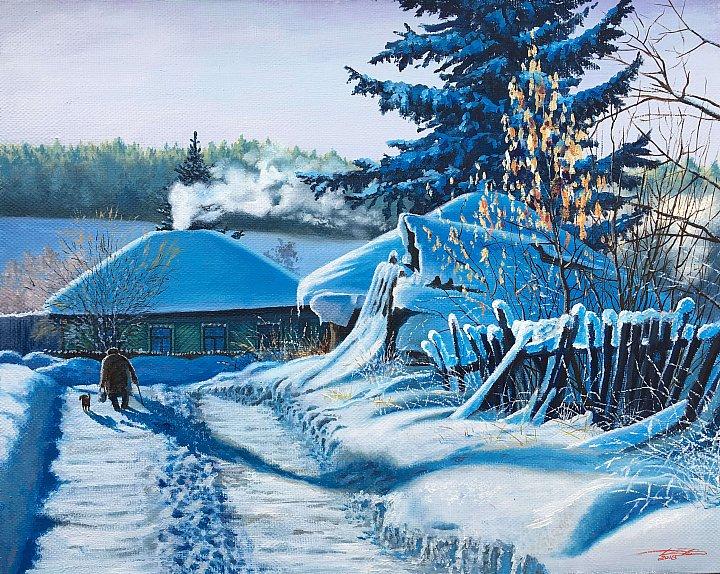 Дубовой Игорь – Зима