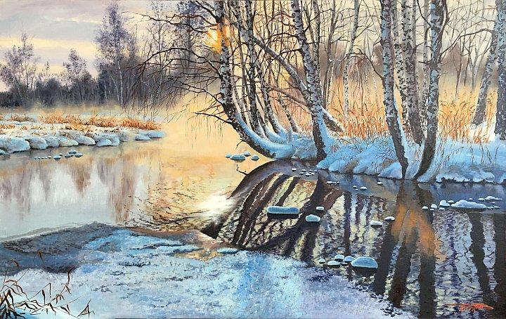 Дубовой Игорь – Зимнее утро
