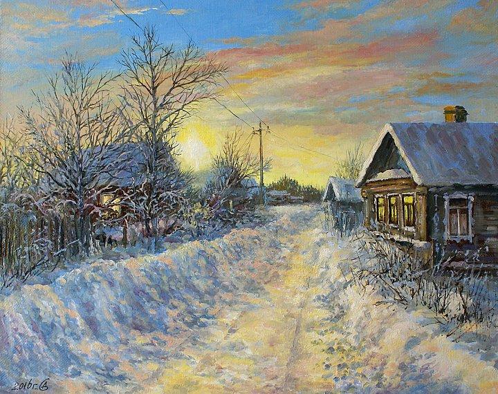 Сергей Дорофеев – Отблески заката