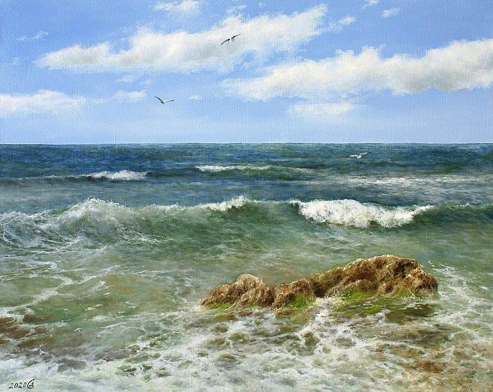 Только море и небо вокруг