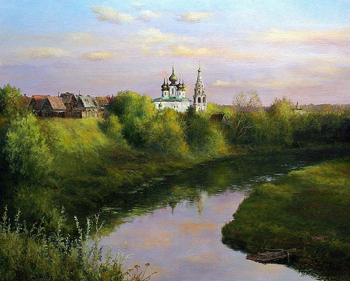 Сергей Дорофеев – Вечер над Суздалем. Август