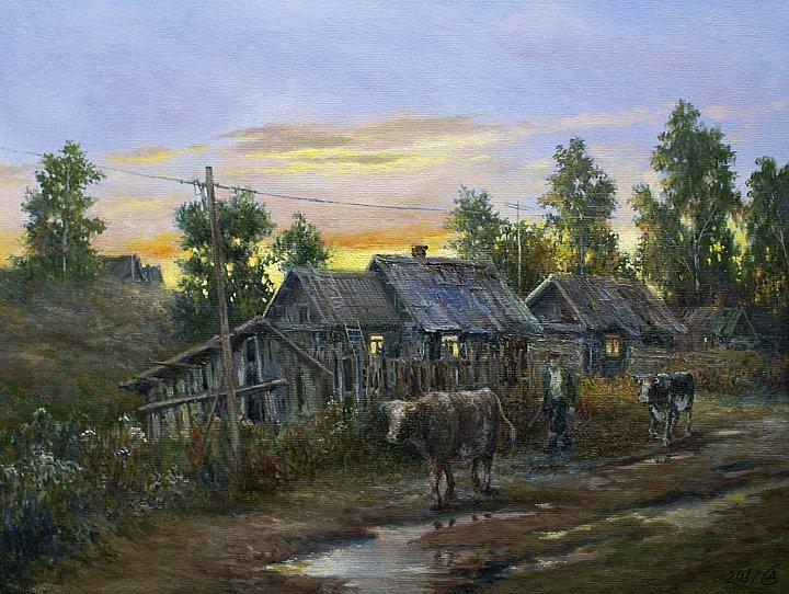 Сергей Дорофеев – Вечер в деревне