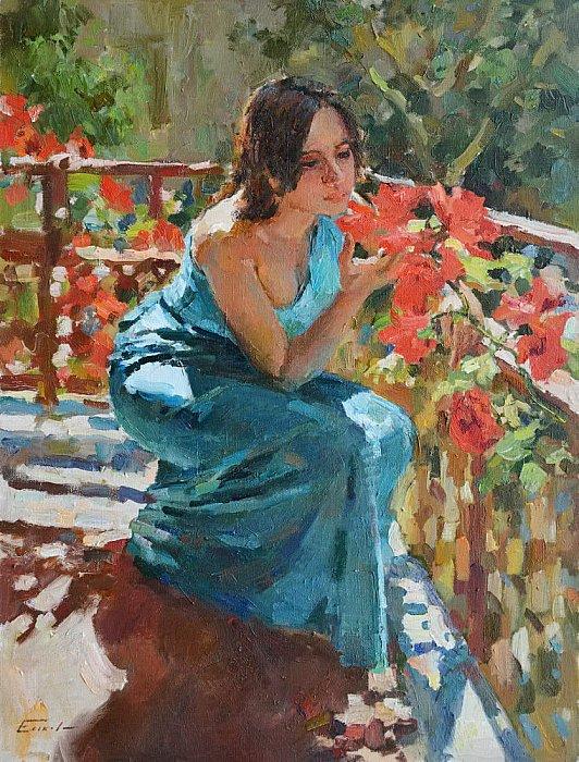 Еськов Павел – На балконе