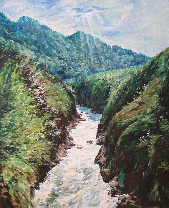 Апрель на реке Белой