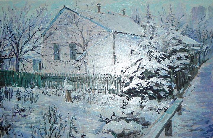 Дом. Зима