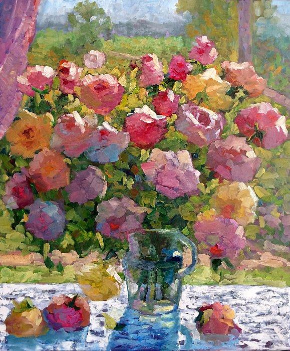 Любовь Гильман – Букет роз