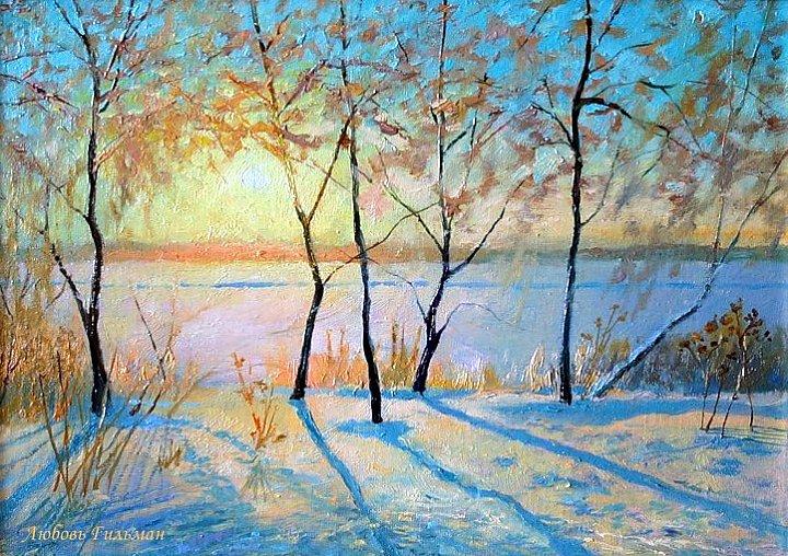Любовь Гильман – Зимний закат
