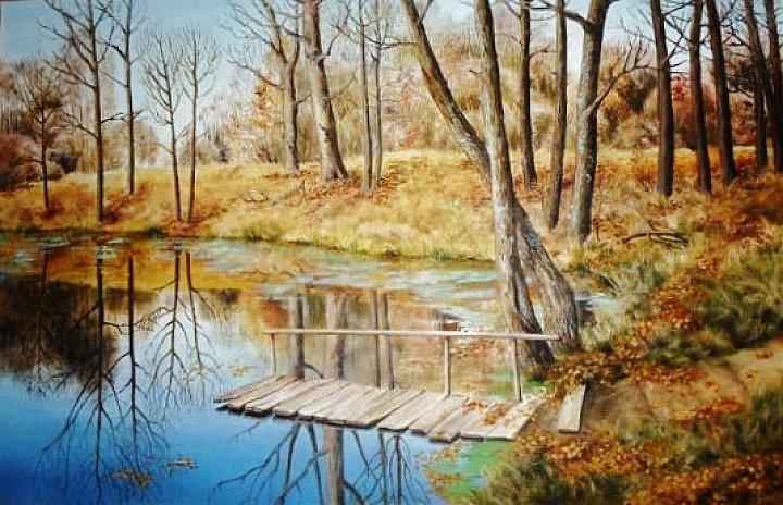 Осень в музее Жуковского