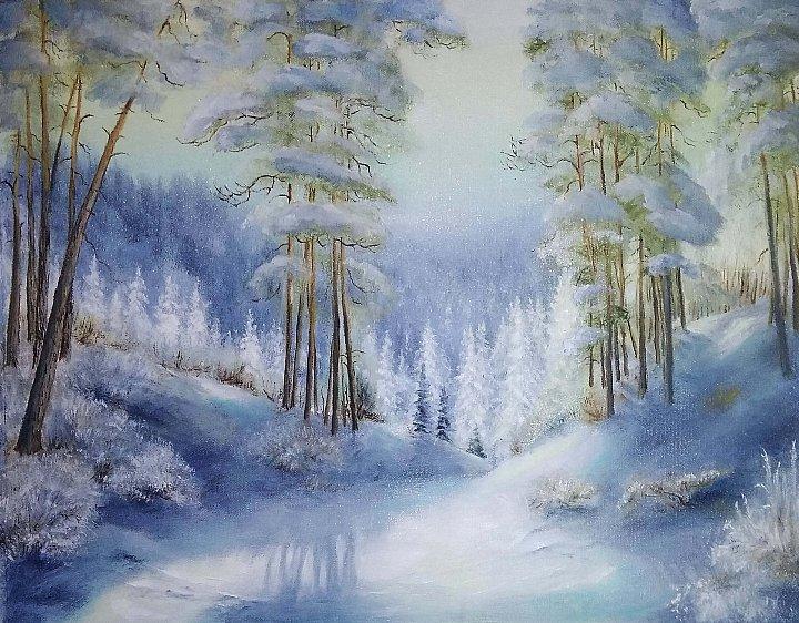 Галина(или просто) Жановна – Зимняя сказка