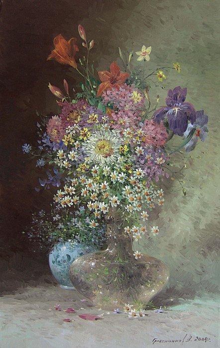 Василий Грибенников – Цветы