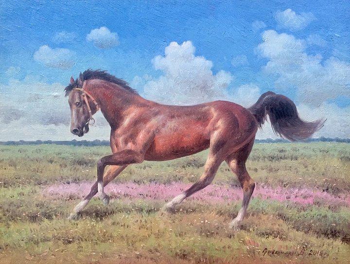 Василий Грибенников – Лошадь