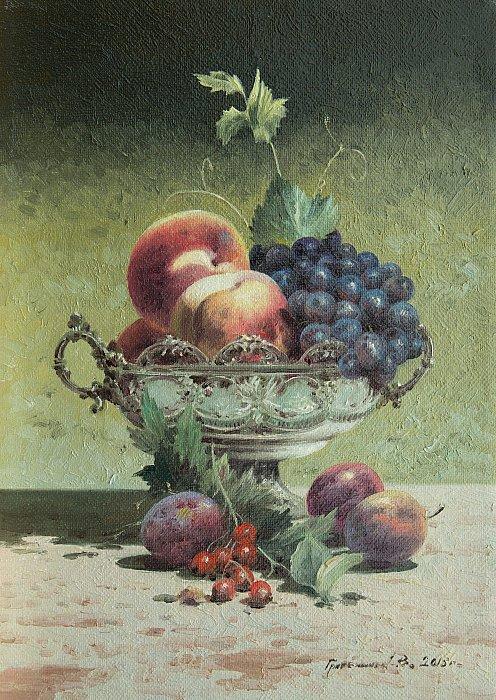 Василий Грибенников – Натюрморт с вазой
